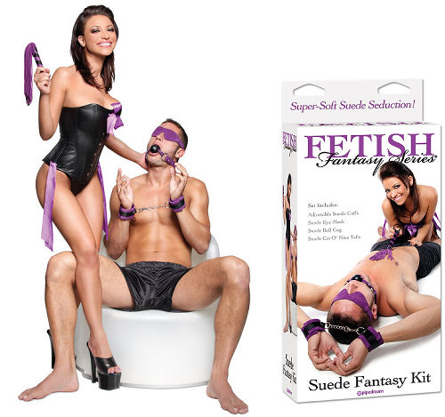 Suede Fetish Fantasy Kit