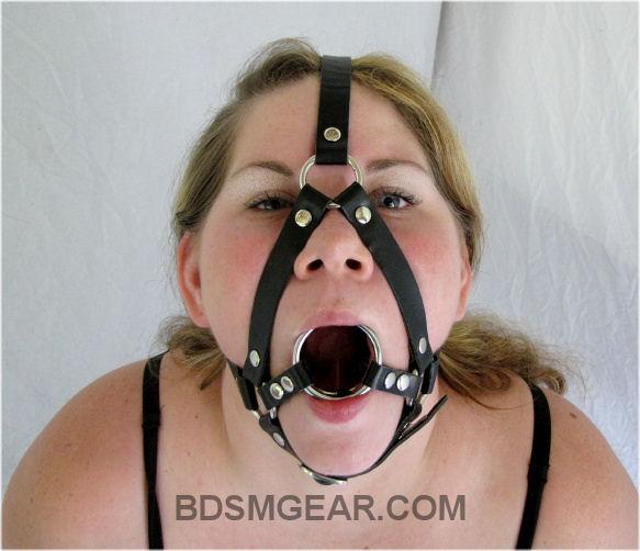 Bondage Ring Gag Porn