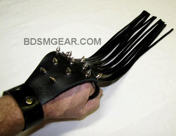Spiked Hand Flogger