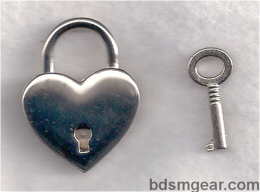 bdsm heart lock bondage heart lock