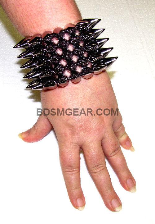 BDSm Bracelet bondage bracelet spiked