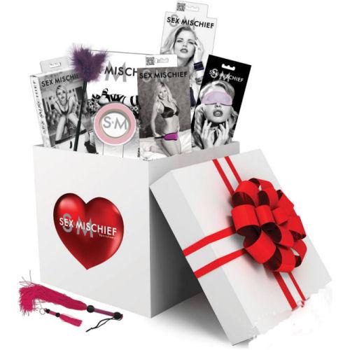 Sex & Mischief Funny Valentine Bondage Gift Set