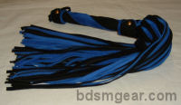 101 Black and Blue Suede Flogger