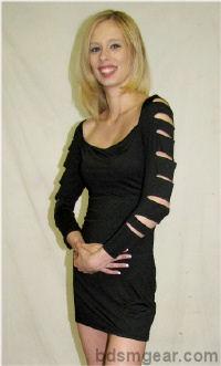 Black Barracuda Dress