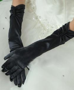Sexy Satin Gloves