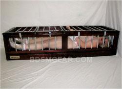 Small BDSM Slave Sleeping Cage