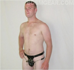 Male Chastity Belt