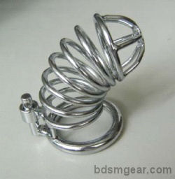 Wire Twist Cock Cage