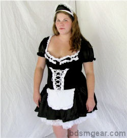 Plus Size French Maid Outfit
