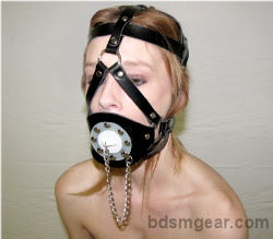 Open Gag With Stopper