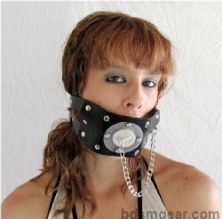 Extreme Bondage Gag with Plug
