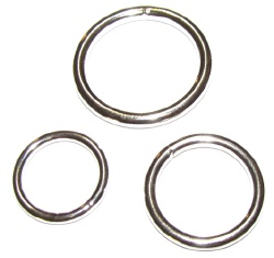 3 Piece Steel Cock Ring Set