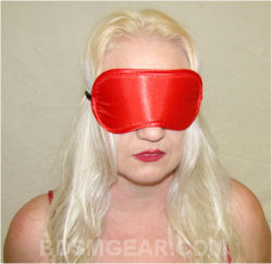 Satin Red Blindfold