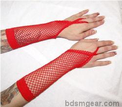 Sexy Fishnet Gloves