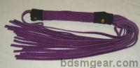 Purple Suede with Black Suede Trim