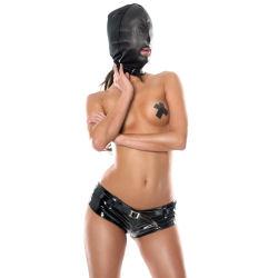 leather hood bondage bdsm store