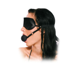 ball gag bondage blindfold bdsm